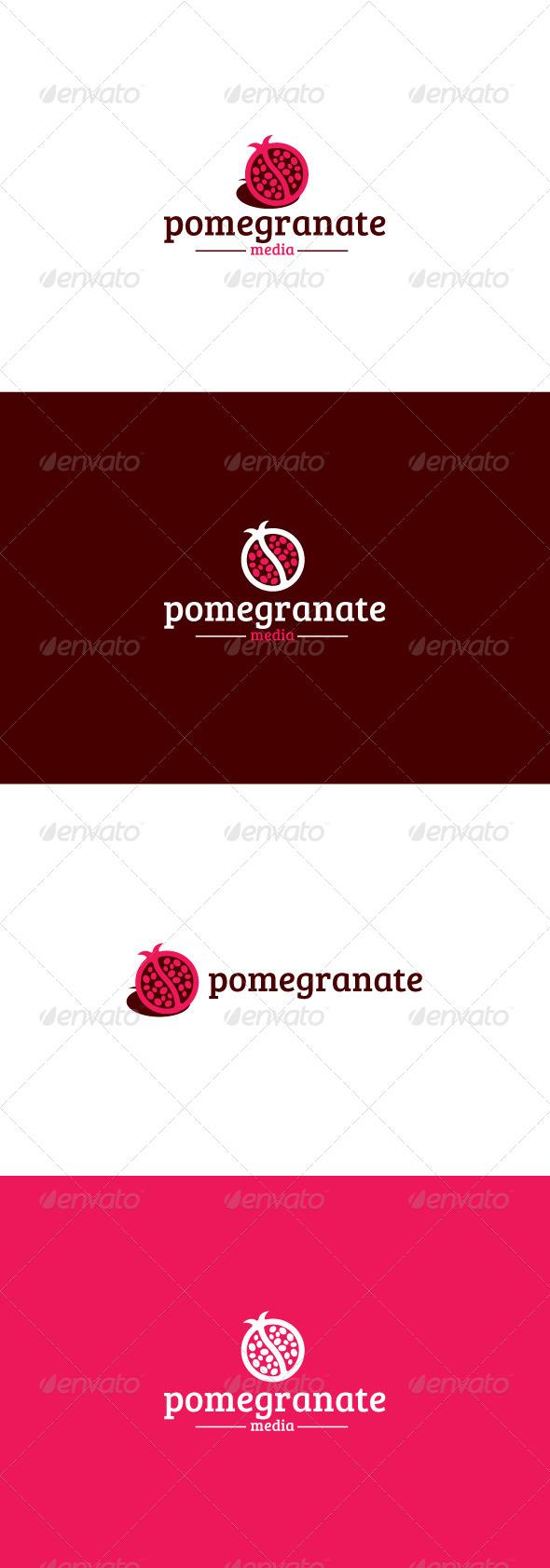 GraphicRiver Pomegranate Logo 8158456