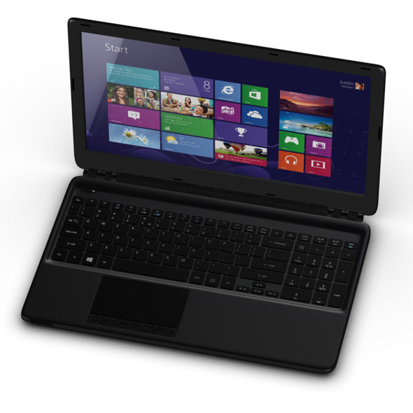 3DOcean Acer Aspire 2 lap top computer 8158629