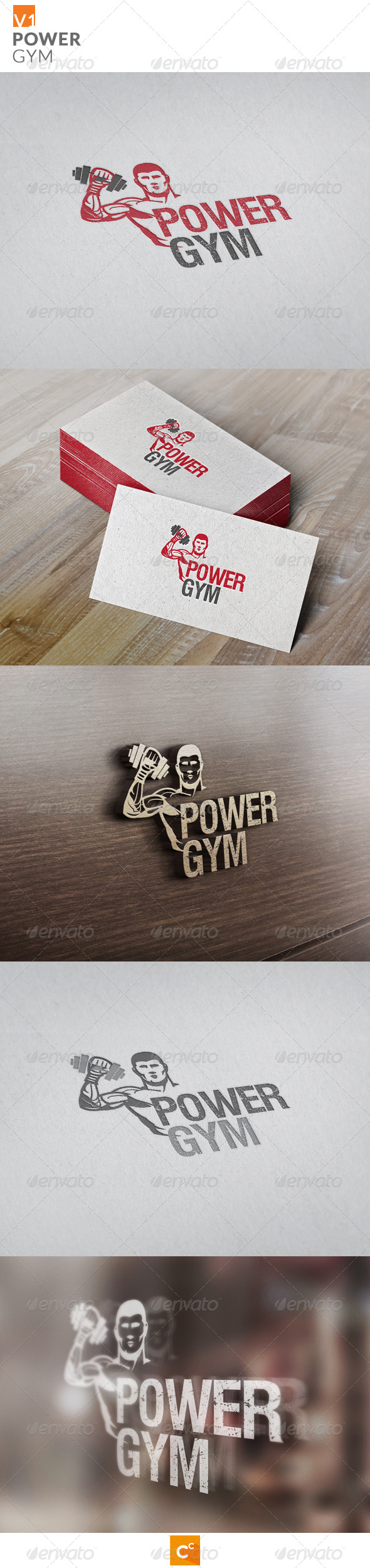 GraphicRiver Power Gym 8158626