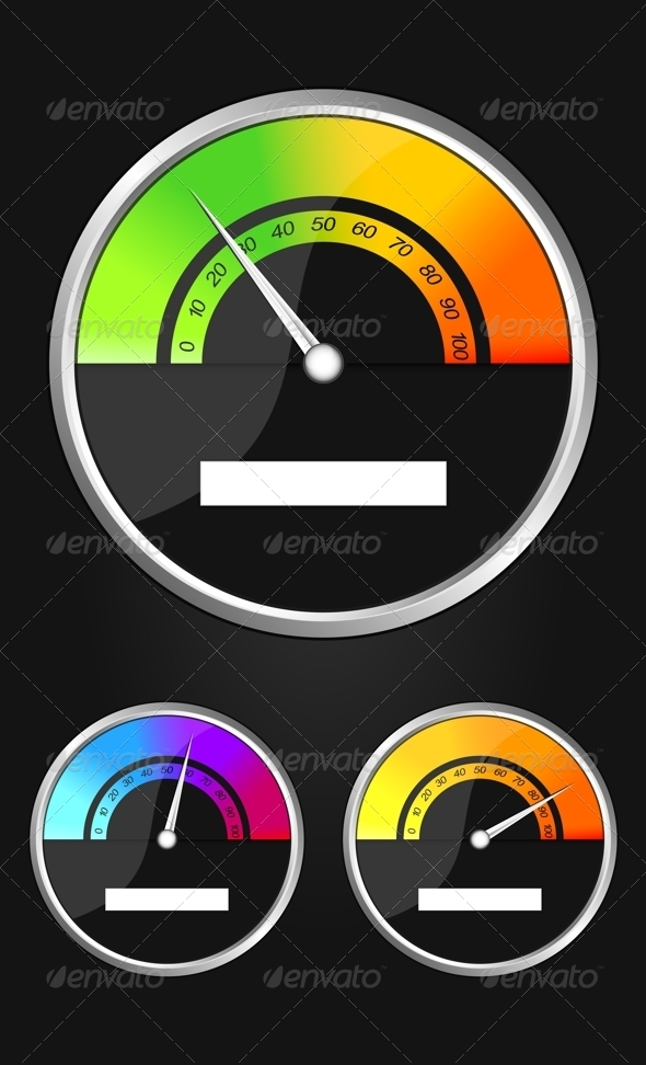 GraphicRiver Measuring Device Set 8159117