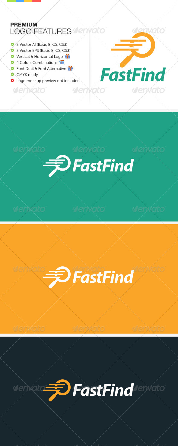GraphicRiver Fast Find Logo 8159197