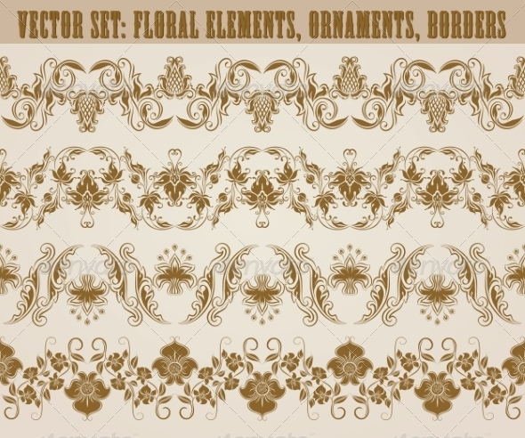 GraphicRiver Horizontal Decoration Vector 8159585