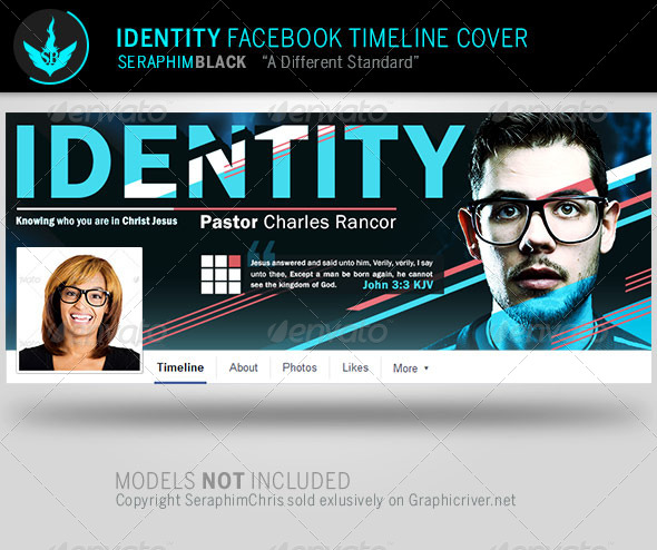 GraphicRiver Identity Facebook Timeline Cover Template 8159763