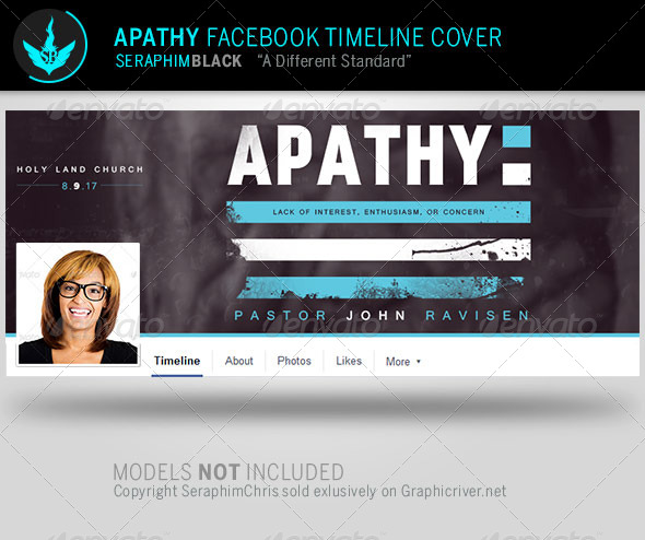 Apathy Facebook Timeline Cover Template
