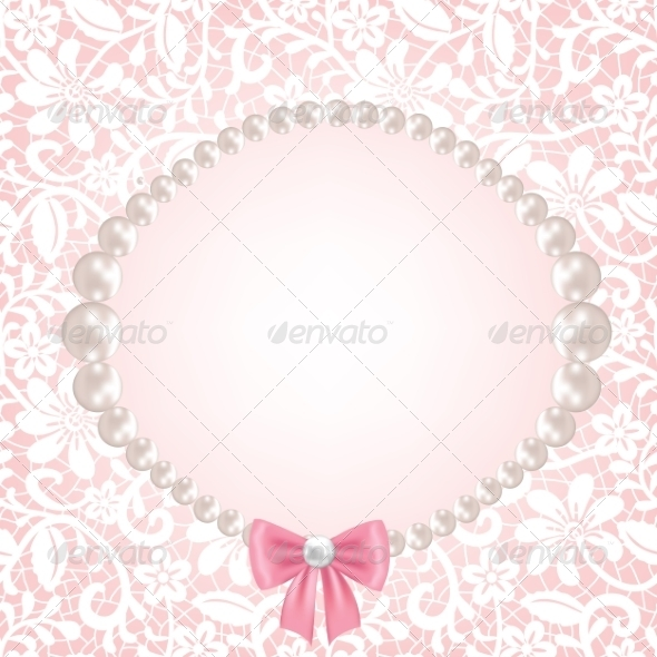 GraphicRiver Lace Fabric Background 8159909