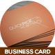 QuickPick Creative Business Card - GraphicRiver Item for Sale