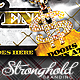 Old School Gold Event Flyer Template - GraphicRiver Item for Sale