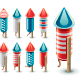 Firework Rockets - GraphicRiver Item for Sale