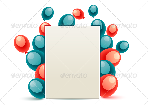 GraphicRiver USA Message With Baloons 8160215