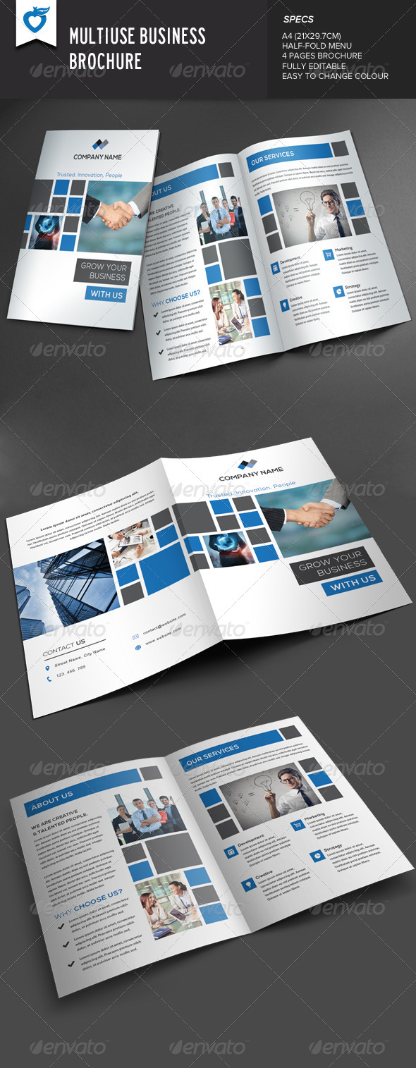 GraphicRiver Multiuse Business Brochure 8159050