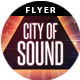 City of Sound | Flyer