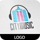 City Music Logo - GraphicRiver Item for Sale
