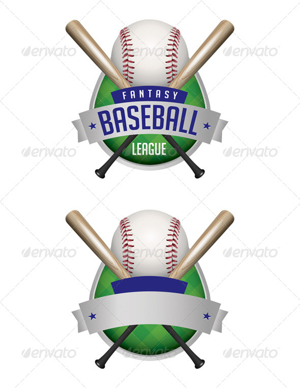 GraphicRiver Vector Baseball Emblems Illustration 8160813