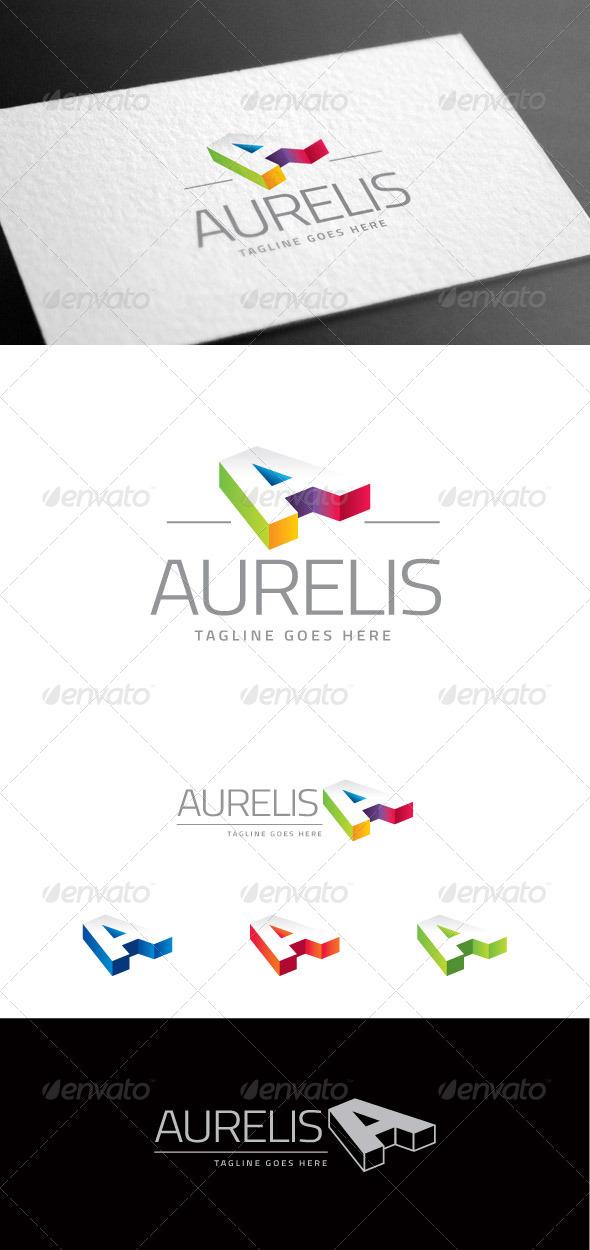 GraphicRiver Aurelis Letter A Logo Template 8160930