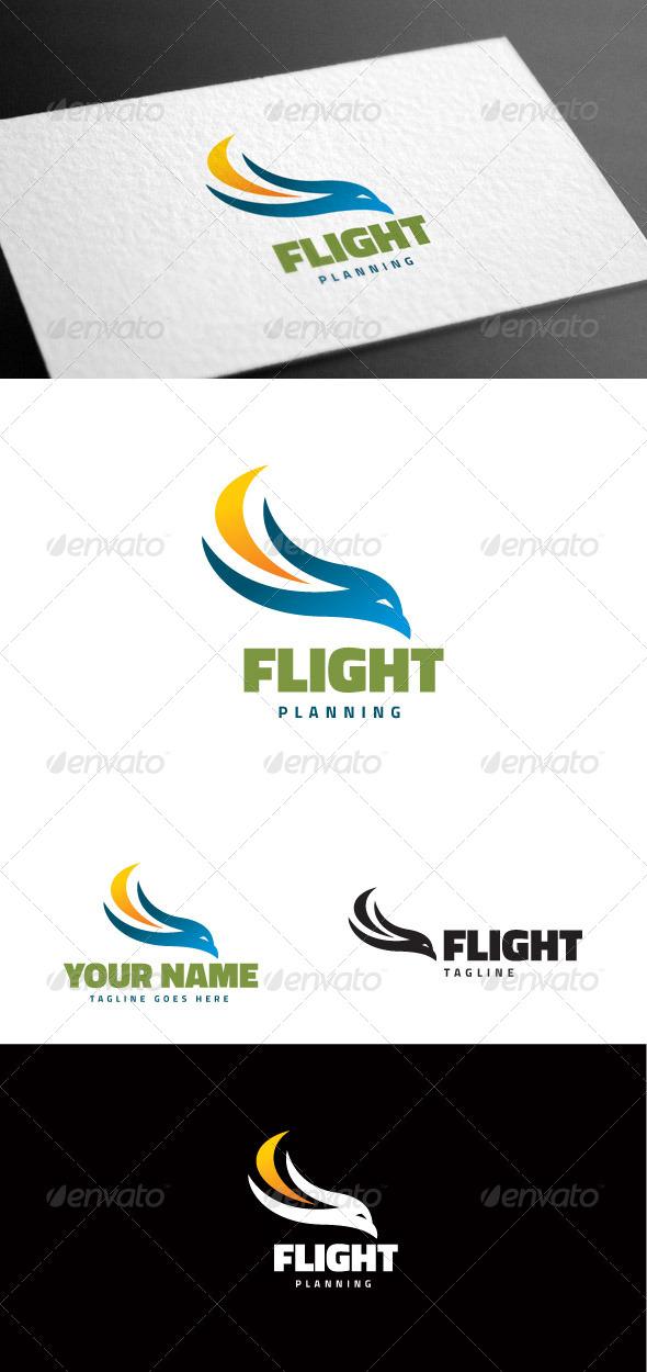 GraphicRiver Eagle Flight Logo Template 8160938