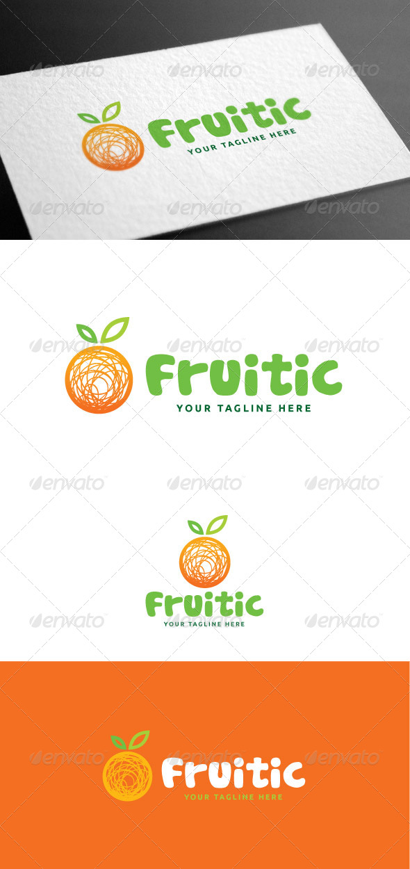 GraphicRiver Fruitic Logo Template 8160943