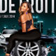 Like Curves In Detroit Motor Show - GraphicRiver Item for Sale