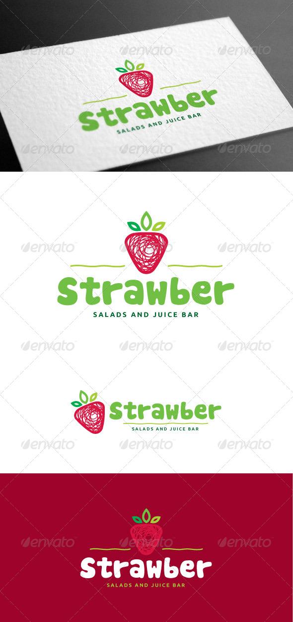 GraphicRiver Strawber Logo Template 8160978