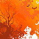 Orange Background on Halloween - GraphicRiver Item for Sale
