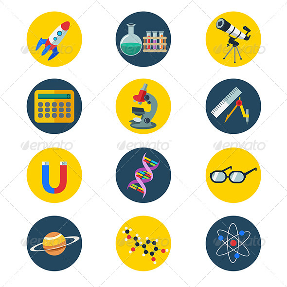 GraphicRiver Science Icons 8161046