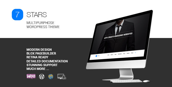 Seven Stars - Modern Responsive MultiPurpose Theme - Business Corporate