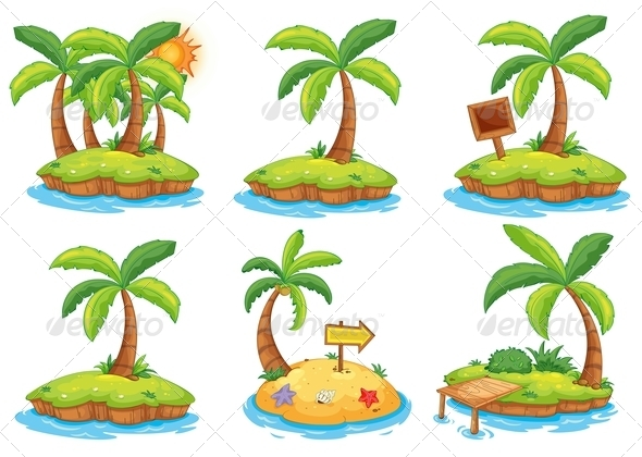 GraphicRiver Islands 8161843
