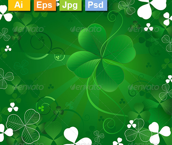 GraphicRiver Magic Clover 8162053