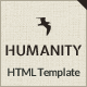Humanity | NGO & Charity HTML Template - ThemeForest Item for Sale