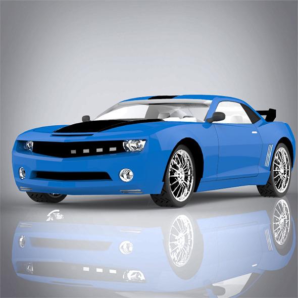 3DOcean sport car 8163066