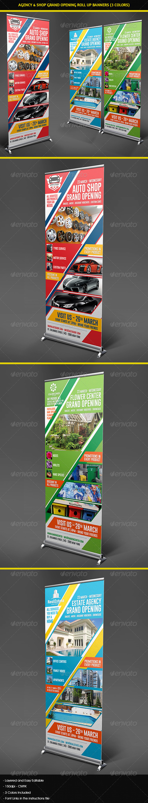 GraphicRiver Agency & Shop Grand Opening Roll Up Banners 7737053