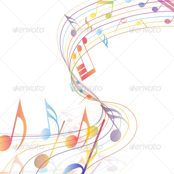 GraphicRiver Multicolor Musical 8163182