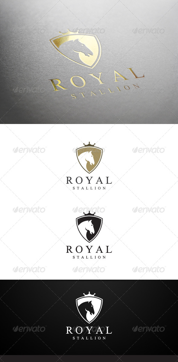 GraphicRiver Royal Stallion Logo 8163196