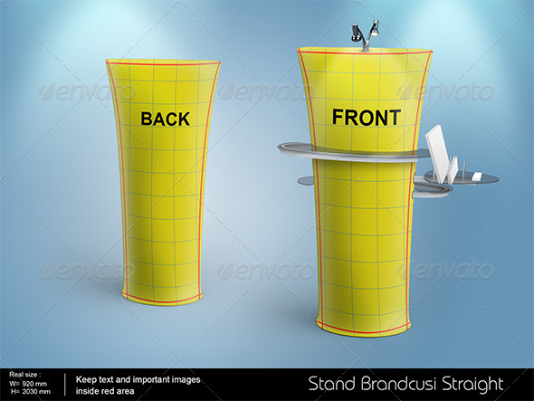 GraphicRiver Brandcusi Straight Stand 8163204