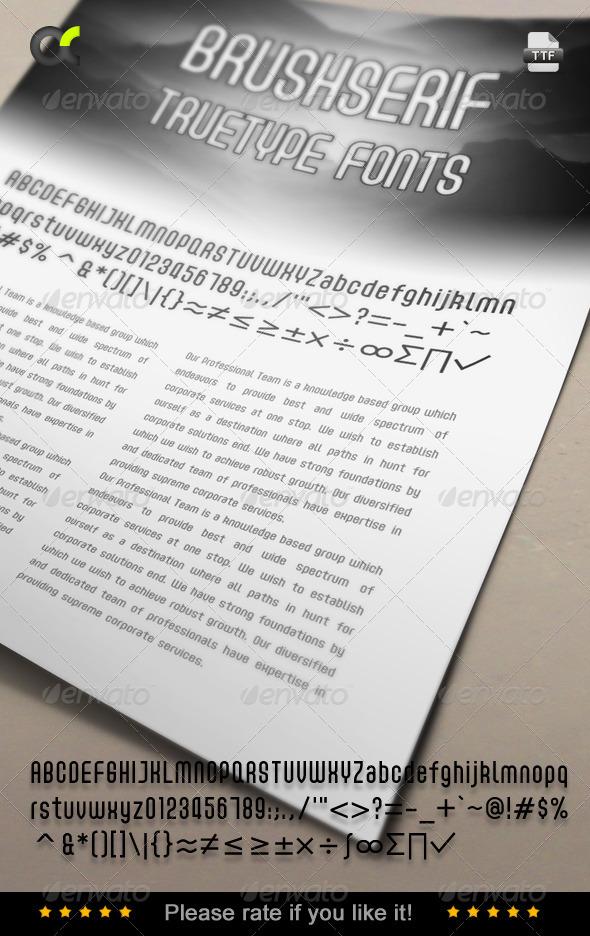 GraphicRiver Acmenter TrueType Font 6859618