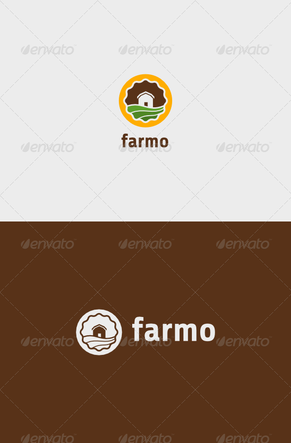 GraphicRiver Farm House Logo 8163923