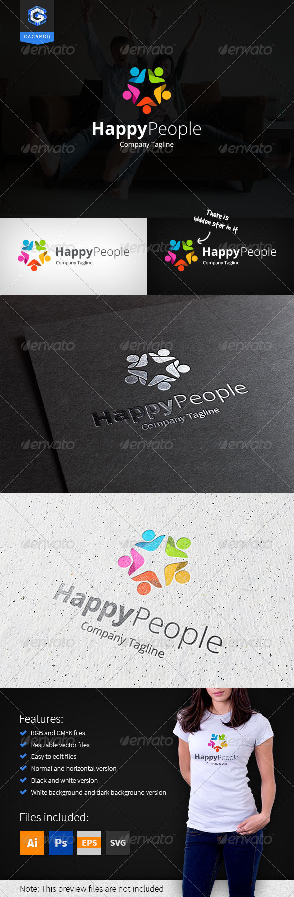 GraphicRiver Happy People 8163926