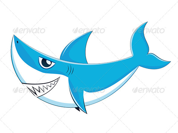 GraphicRiver Great White Shark 8164013