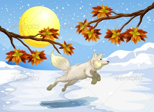 GraphicRiver Fox Jumping 8164213