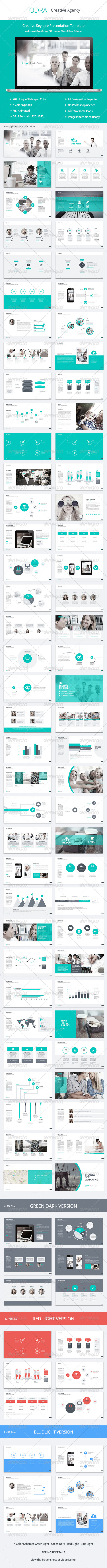 GraphicRiver Odra Creative Keynote Template 8157947