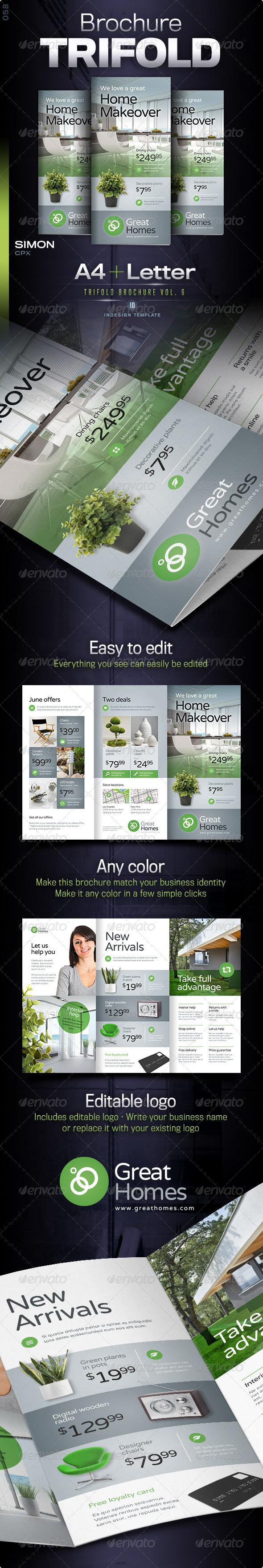 GraphicRiver Trifold Brochure Vol 6 8164360