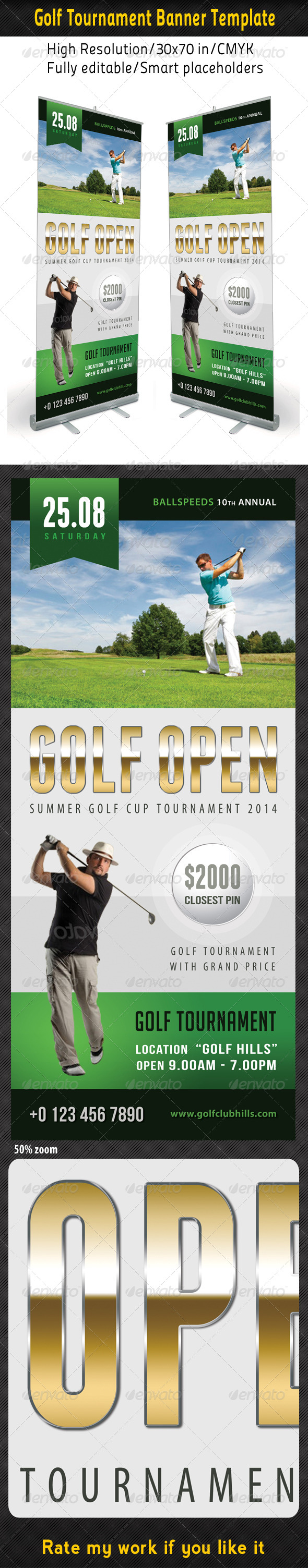 GraphicRiver Golf Event Banner Template 03 8164446