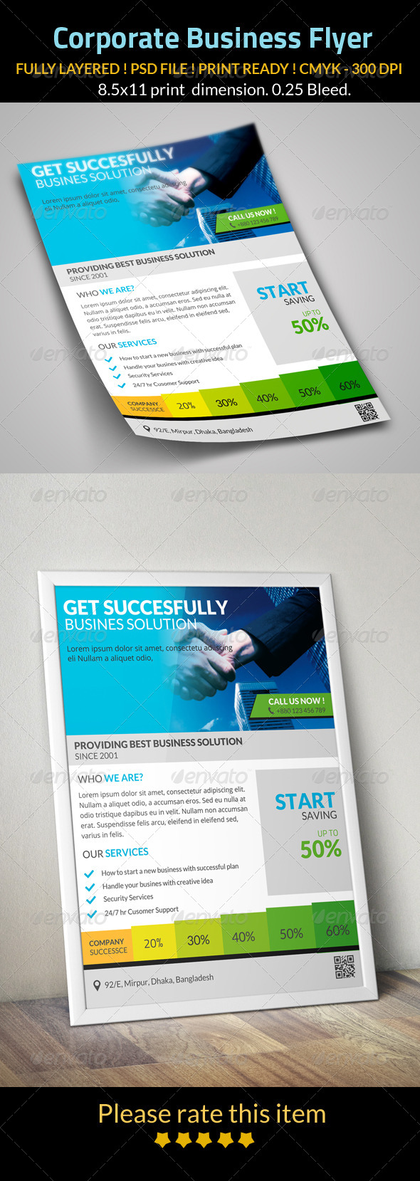 GraphicRiver Corporate Business Flyer 8159031