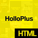 Hollo Plus - Onepage Agency Template