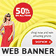 Online Shopping Web Banner - GraphicRiver Item for Sale