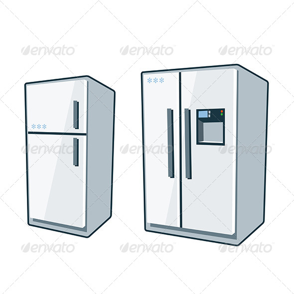 GraphicRiver Home Appliances 1 Refrigerators 8164647
