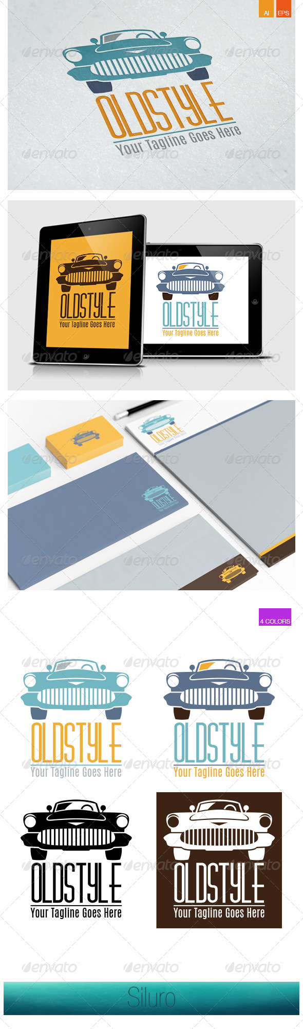 GraphicRiver OldStyle Logo 8164764