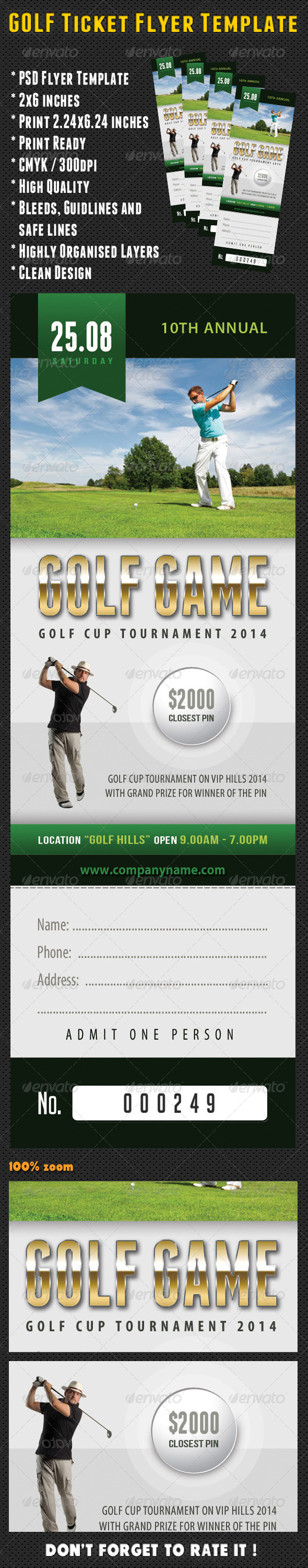 GraphicRiver Golf Ticket Template 03 8164802