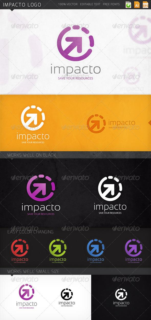GraphicRiver Impacto Logo 8164888