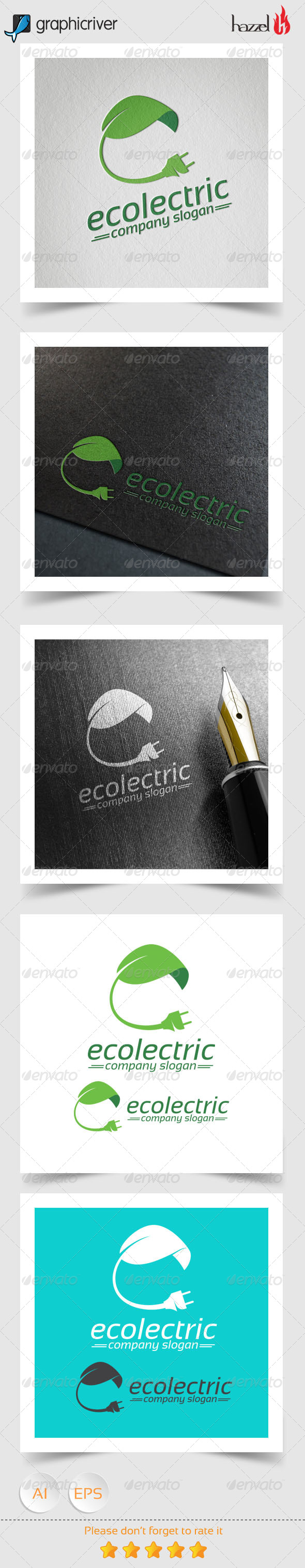GraphicRiver Ecolectric Logo 8166172