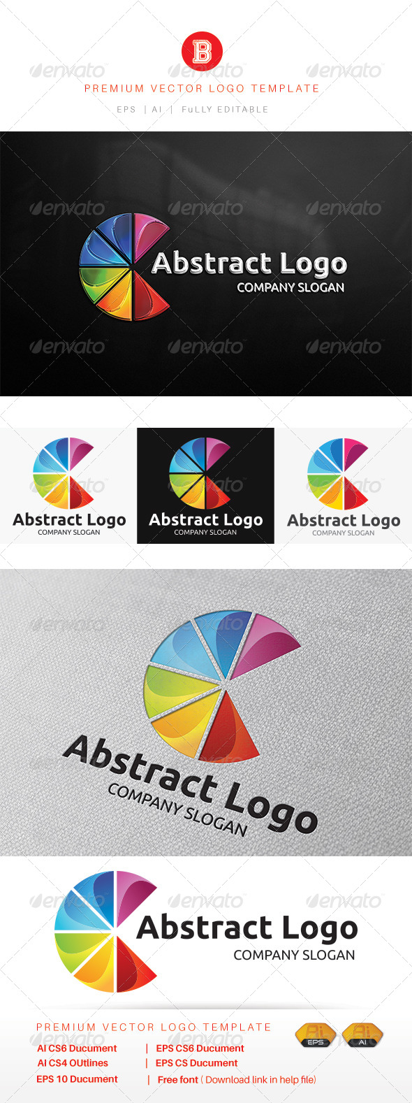GraphicRiver Abstract Logo 8166181